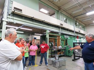 Educators at ACME Engineering and Manufacturing in Muskogee.